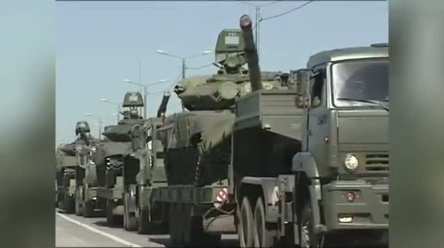 Russian Troops Apparently Leaving Border