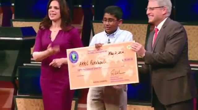 Geography Bee Win Fulfills Teen's Longtime Dream
