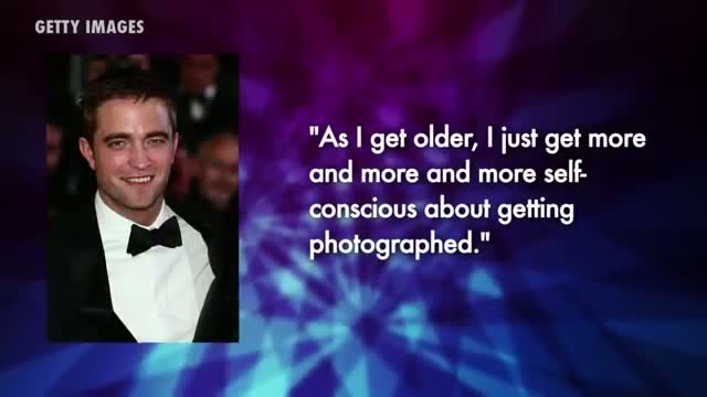 Robert Pattinson Admits He is Extremely Self-Conscious