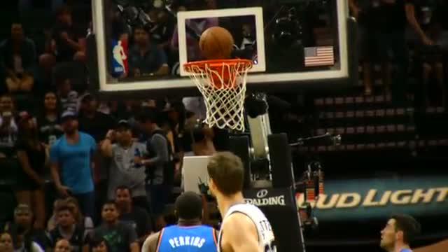 Best of NBA Phantom: San Antonio's Amazing Game 2 vs. OKC (Basketball Video)