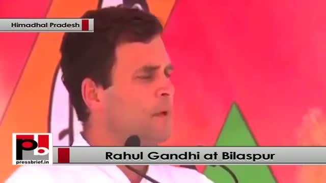 Rahul Gandhi: Many acres of land given to an industrialist at nominal price by Gujarat govt