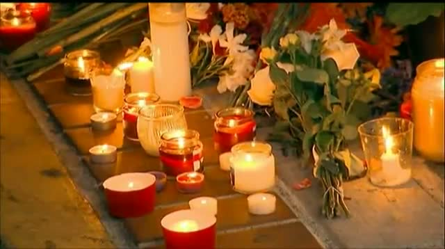 Vigil Held to Honor Shooting Victims