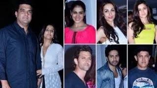 Alia Bhatt, Aamir Khan, Kangana Ranaut, Hrithik Roshan @ Karan Johar's 42nd BIRTHDAY BASH