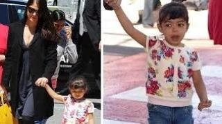 Aishwarya Rai Bachchan & daughter Aaradhya Bachchan RETURN from Cannes 2014