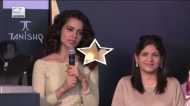 Kangana Ranaut Launches Iva At Tanishq