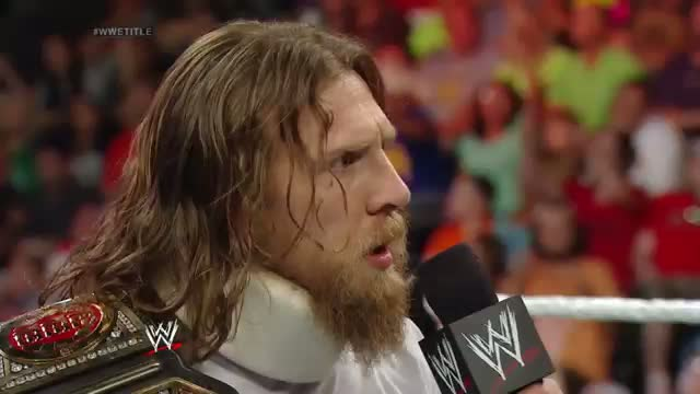 Daniel Bryan refuses to surrender the WWE World Heavyweight Title: WWE Raw, May 26, 2014