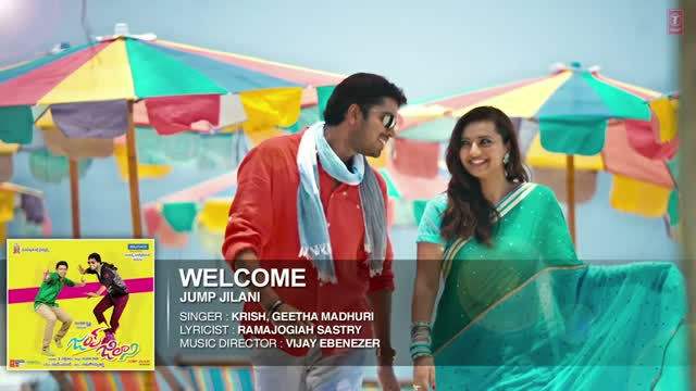 Welcome Hearty Welcome Full Song (Audio) | Jump Jilani (Telugu Movie 2014) | Krish, Geetha Madhuri