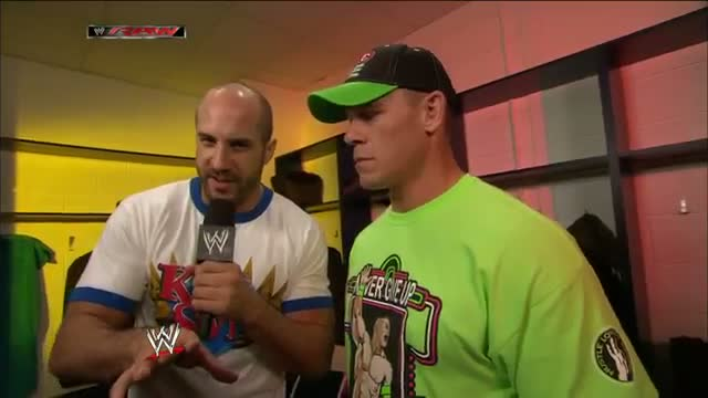 German: John Cena talks about his Last Man Standing Match at WWE Payback