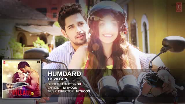 Hamdard Full Audio Song - Ek Villain (2014) | Arijit Singh | Mithoon