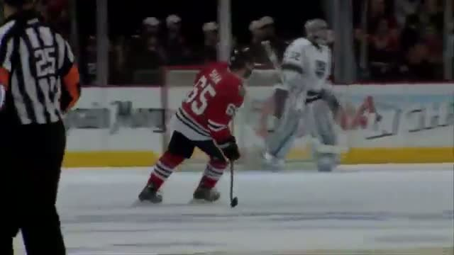 Andrew Shaw is Mic'd Up in Game 5 of WCF