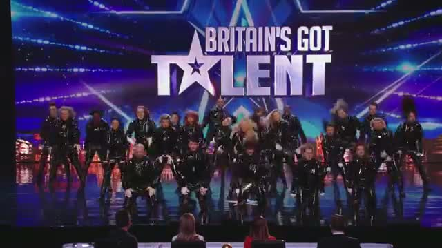 "Britain's Got Talent 2014 - ""Refreshingly evil"" dance troupe: The Addict Initiative"