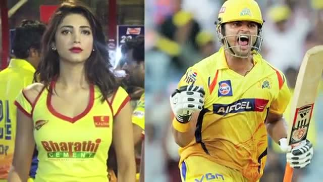 Shruti Haasan and Suresh Raina Dating - Suresh Raina REACTS