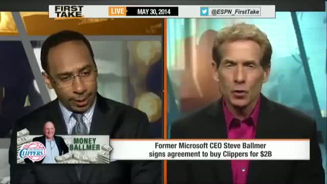 Steve Ballmer Signs Buys Clippers for $2 Billion - ESPN First Take