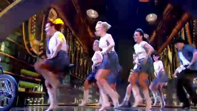 Line dancers CountryVive add a touch of glamour - Britain's Got Talent 2014