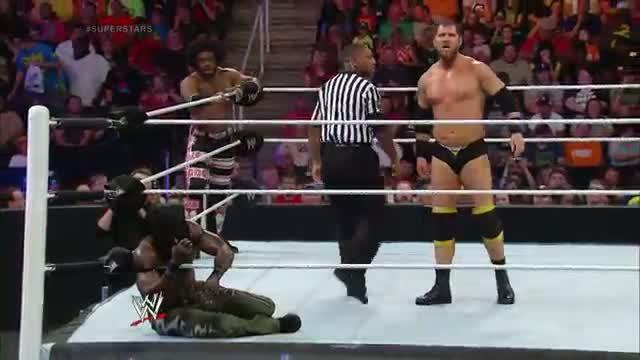 R-Truth & Xavier Woods vs. RybAxel: WWE Superstars, May 29, 2014