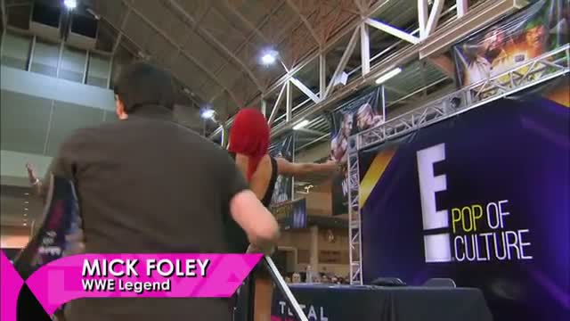 Eva Marie has her first individual autograph signing: WWE Total Divas Season 2 Finale, June 1, 2014