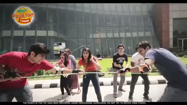 "Mirinda ""Pagalpanti Idea"" New Ad 2014 - Tug of War"