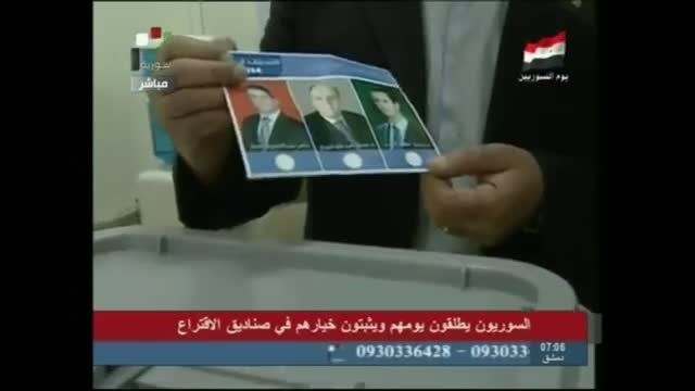 Polling Stations Open for Syrian Elections