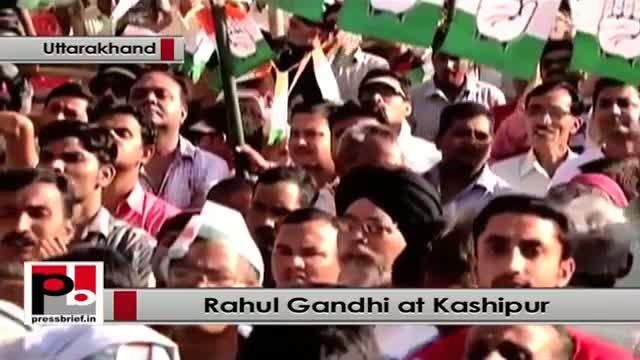 Rahul Gandhi strikes chord with people at Kashipur, Uttarakhand