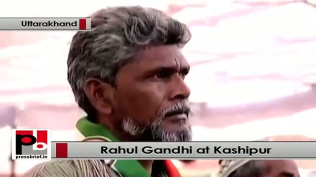 Rahul Gandhi takes on BJP, lists out UPA policies at Kashipur, Uttarakhand