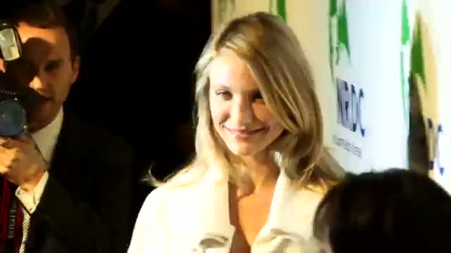 Cameron Diaz and Benji Madden Spotted Holding Hands