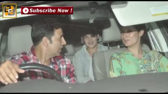 Akshay Kumar's MOVIE DATE with son Aarav Kumar