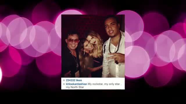 Khloe Kardashian Goes to JLo's Free Concert with French Montana