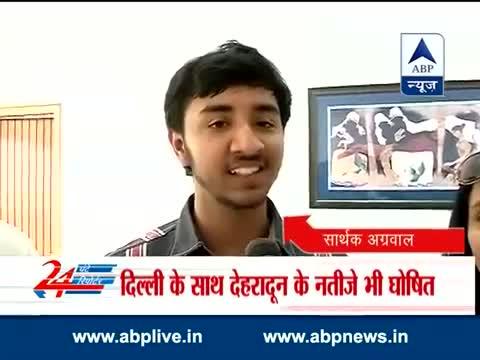 Sarthak Agarwal tops Class 12 CBSE exams with 99.6%