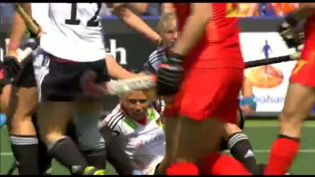 Germany vs China - Women's Rabobank Hockey World Cup 2014 Hague Pool B [01/6/2014]