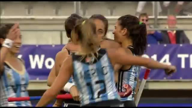 Argentina vs South Africa - Women's Rabobank Hockey World Cup 2014 Hague Pool B [01/6/2014]