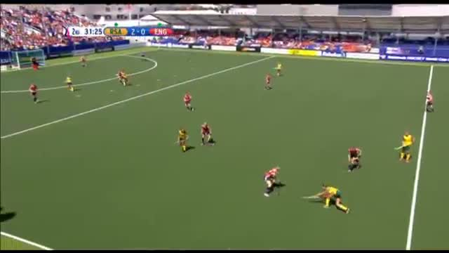 South Africa vs England - Women's Rabobank Hockey World Cup 2014 Hague Pool B [06/6/2014]