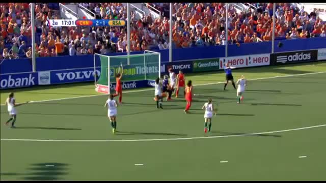 China vs South Africa - Women's Rabobank Hockey World Cup 2014 Hague Pool B [08/6/2014]