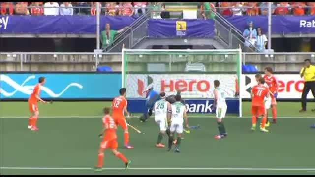 South Africa vs Netherlands - Men's Rabobank Hockey World Cup 2014 Hague Pool B [08/6/2014]