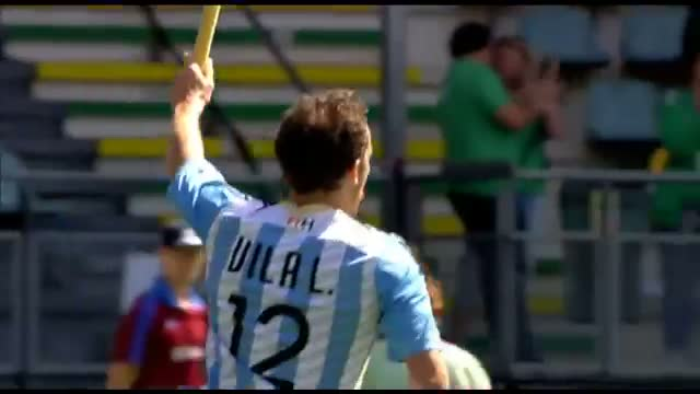 Argentina vs South Africa - Men's Rabobank Hockey World Cup 2014 Hague Pool B [10/6/2014]