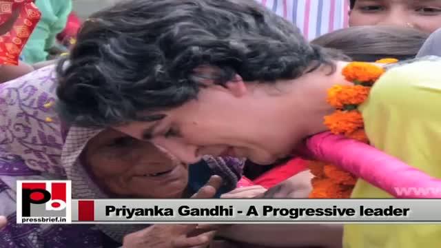 Many people see Indira Gandhi in Priyanka Gandhi