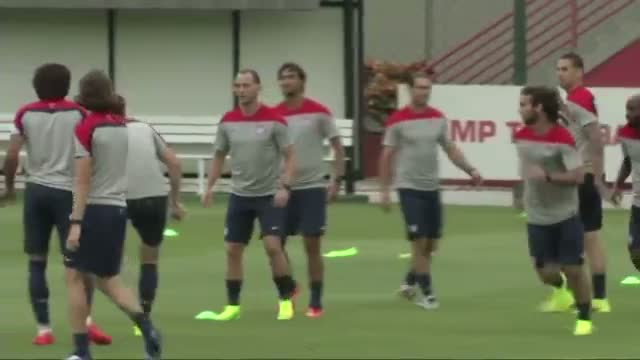 U.S. World Cup Team Begins Training in Brazil