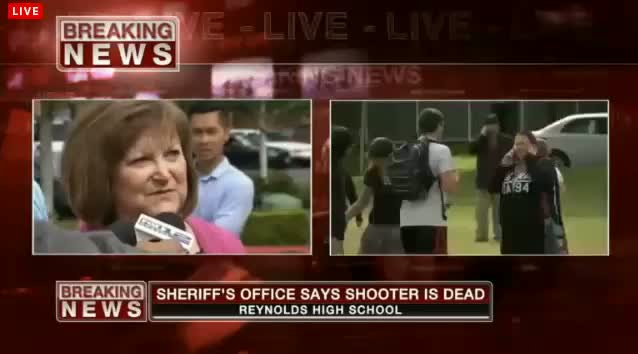 Oregon school shooting Reynolds High School shooting 1 student dead plus shooter Press conference