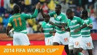 FIFA World Cup Team Profile: COTE D'IVOIRE