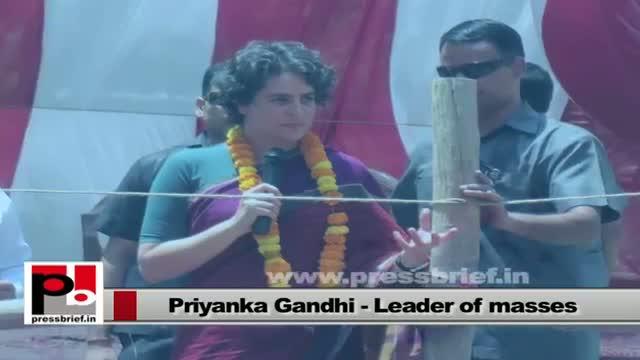 Priyanka Gandhi Vadra - an inspiring leader with modern, innovative vision