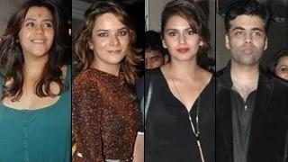 Ekta Kapoor's BIRTHDAY BASH: Ekta, Karan Johar, Huma PARTY HARD