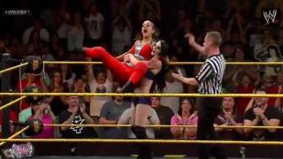 Paige, Emma & Bayley vs. Charlotte, Sasha Banks & Summer Rae: WWE NXT, June 12, 2014