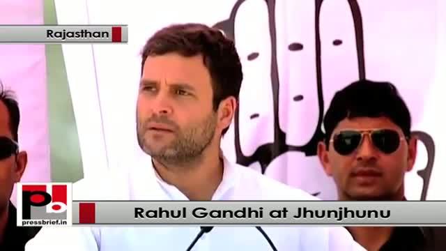 Rahul Gandhi never makes empty promises