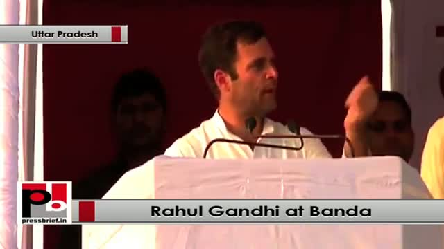 Rahul Gandhi wants to provide education, other facilities to all