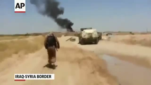 ISIL Fighters Attack on Iraq-Syria Border