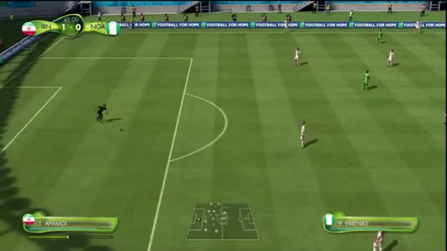 Iran vs Nigeria 2014 Goals & Full Match - World Cup 2014 Full PS3 Gameplay Highlights