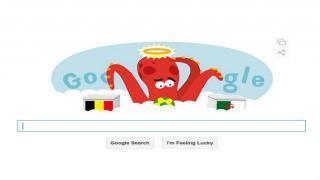 Google's Belgium vs Algeria Doodle Salutes Paul the Octopus