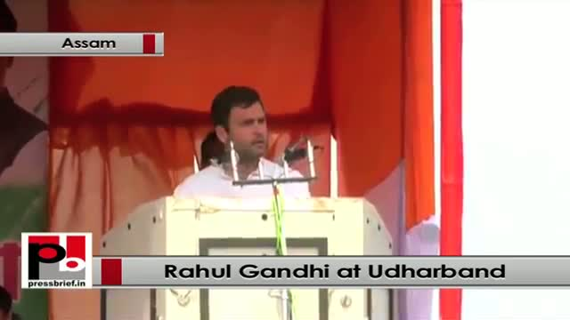 Rahul Gandhi wants every poor Indian also must have big dreams