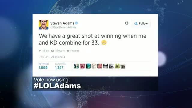 2014 NBA Social Media Awards LOL Award Nominee: Steven Adams
