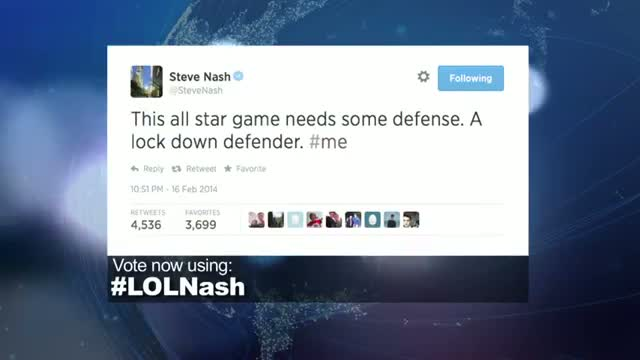 2014 NBA Social Media Awards LOL Award Nominee: Steve Nash