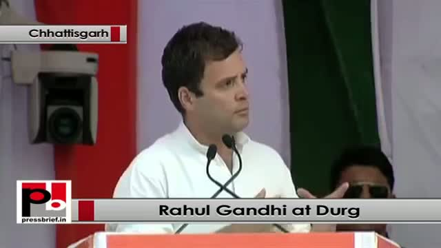 Rahul Gandhi: Only Congress is committed for welfare and upliftment of the poor